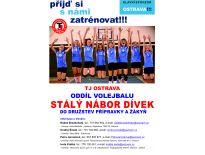 TJ Ostrava-nábor dívek